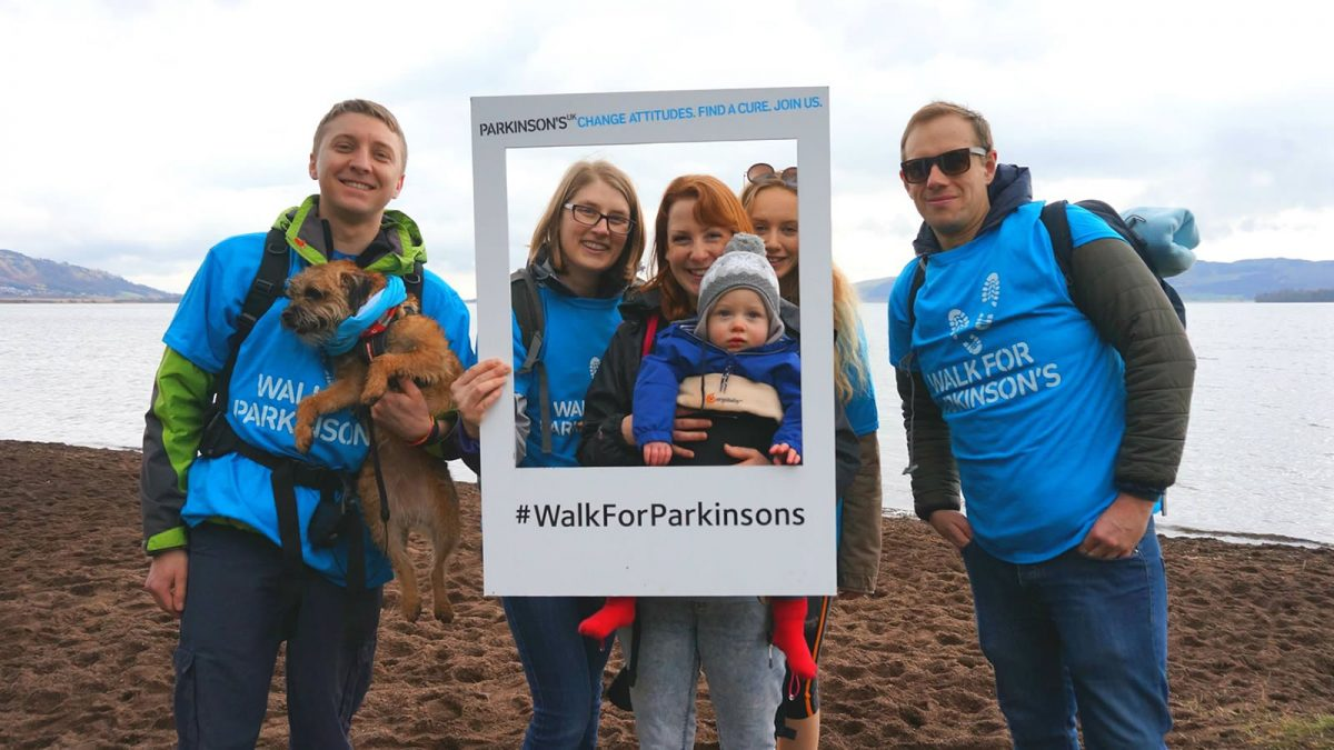 Parkinsons UK Loch Leven Walkathon