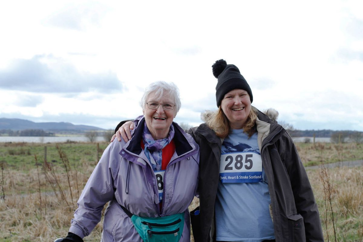 Chest Heart & Stroke Scotland Walkathon