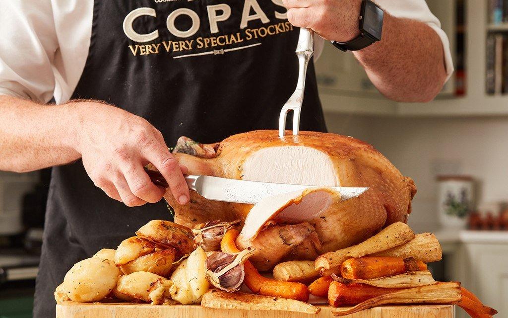Carving a Copas Turkey