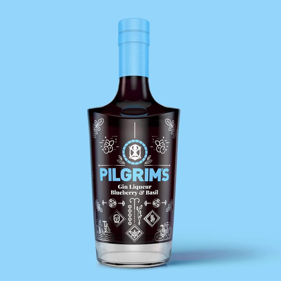 Pilgrim's Blueberry & Basil Gin Liqueur