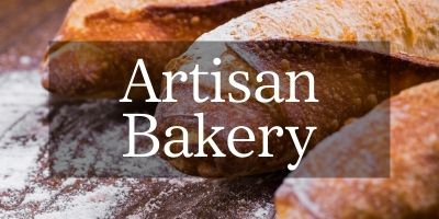 Our in-store artisan bakery at Loch Leven's Larder