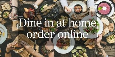 Dine at home - order online